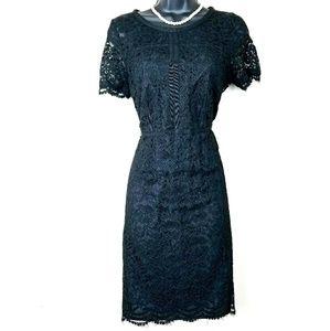 ELLE little black dress lace Sz 6